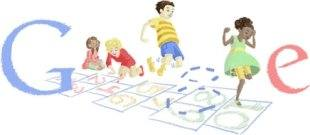 google doodle childs play