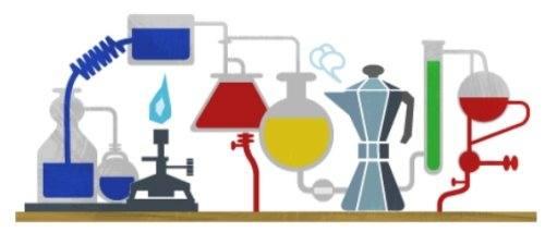 google doodle bunsen