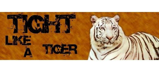 as toight as a tiger