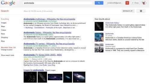 andromeda semantic web