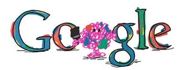 mr messy google doodle