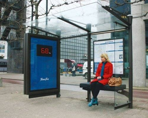 weight weigh bus stop
