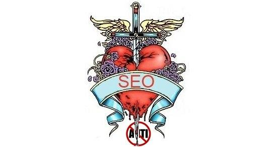 anti seo dagger to heart